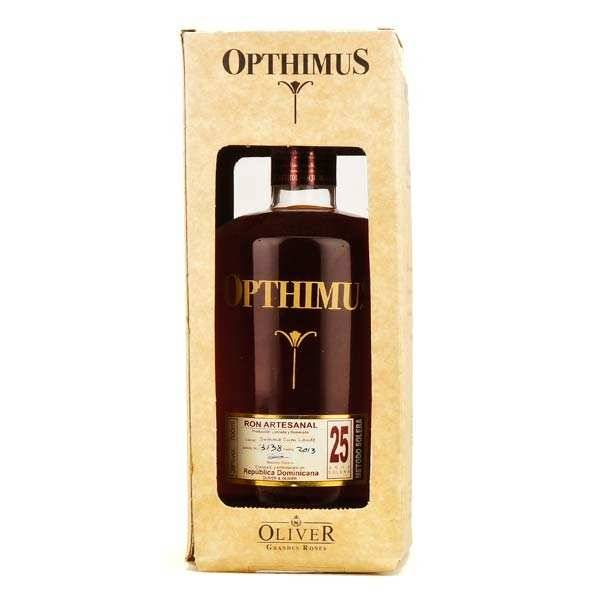 Opthimus 25 ans - rhum dominicain - 38% - Bouteille 70cl