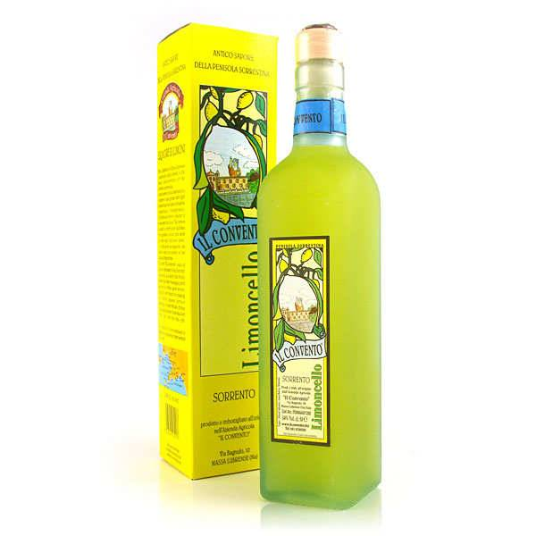 Il Convento Limoncello di Sorrento - liqueur au citron - 34% - Bouteille 50cl