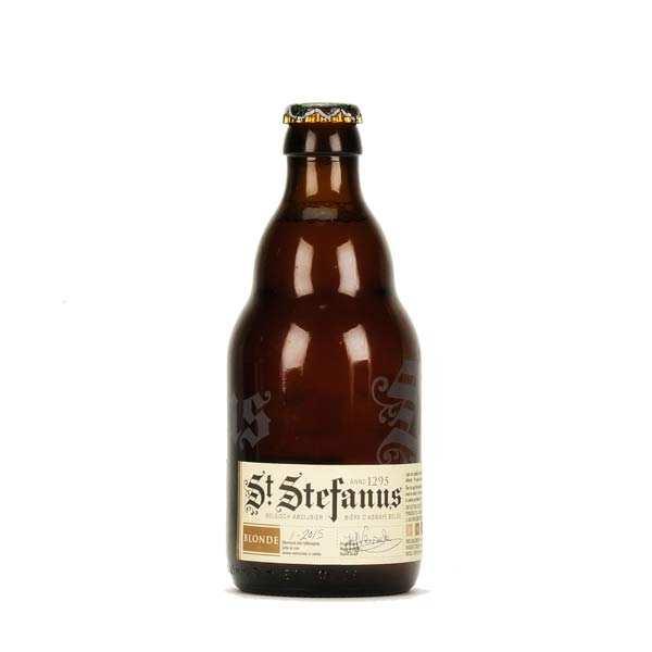 St Stefanus - Bière belge blonde - 7% - Lot de 6 bouteilles 33cl
