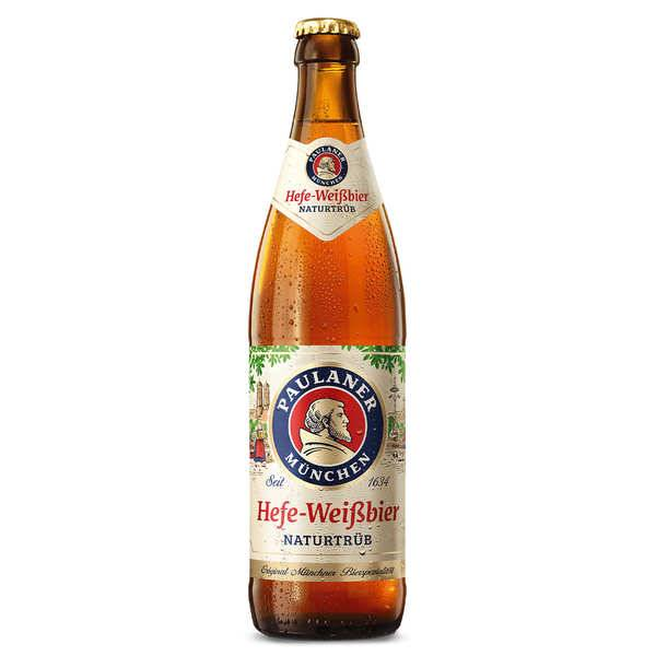 Paulaner Hefe Weissbier - Bière blonde - 5.5% - Lot 20 bouteilles 50cl