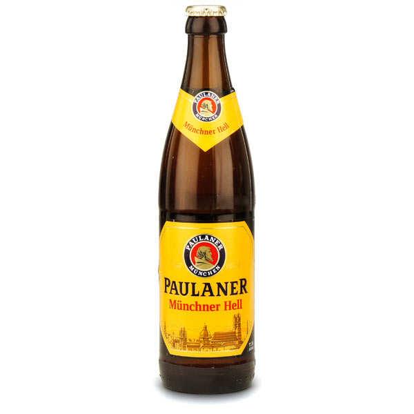 Paulaner Munchner Hell - Bière blonde - 4.9% - Lot 20 bouteilles 50cl