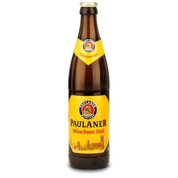 Paulaner Munchner Hell - Bière blonde - 4.9% - Bouteille 50cl