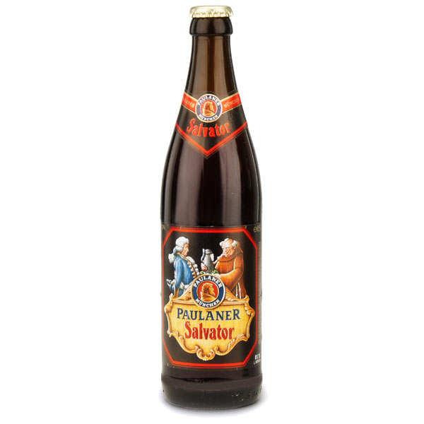Paulaner Salvator - Bière allemande ambrée - 7.9% - Lot 20 bouteilles 50cl