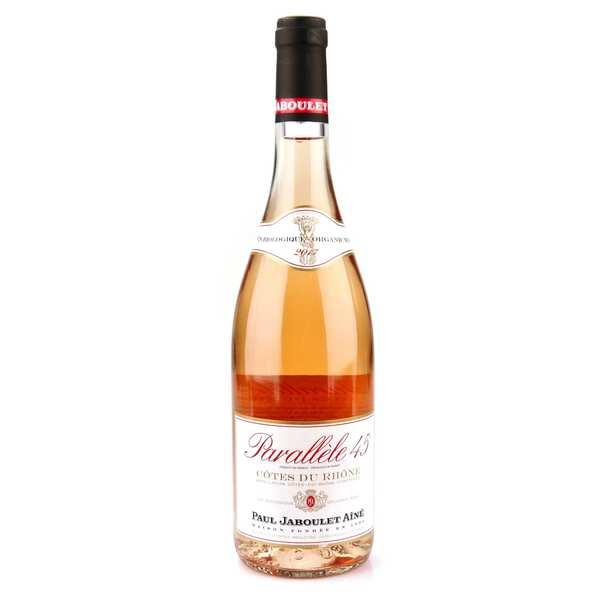Paul Jaboulet Aîné Jaboulet vin rosé bio Parallèle 45 - 2017 - Bouteille 75cl