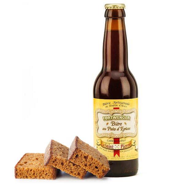 Fortwenger Bière au pain d'épices 5.8% - Bouteille 33cl