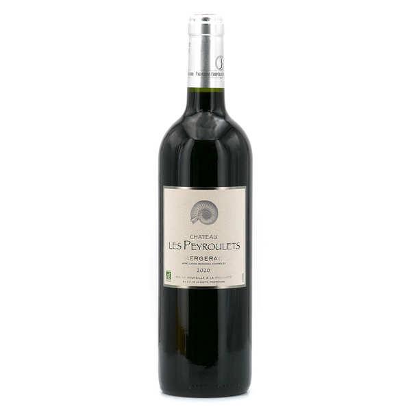 Château Les Peyroulets bio - AOC Bergerac - 12° - Vin rouge - 2019 - Lot 6 bouteilles 75cl
