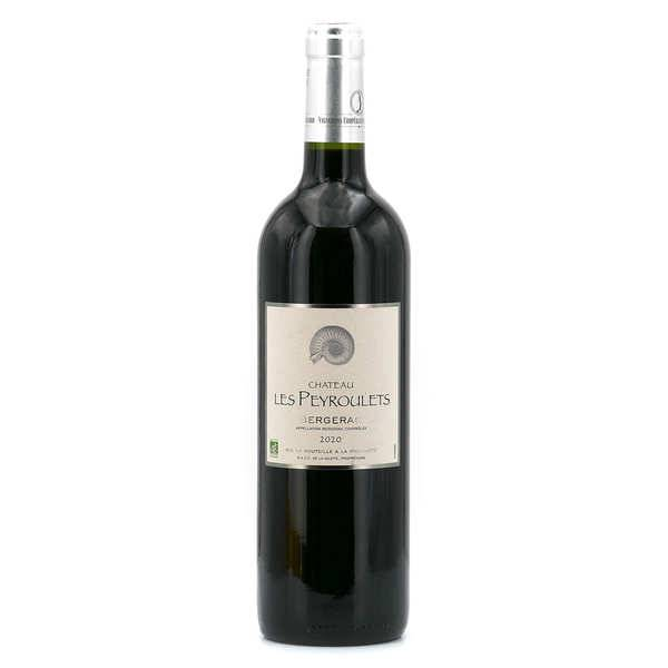 Château Les Peyroulets bio - AOC Bergerac - 12° - Vin rouge - 2019 - Bouteille 75cl