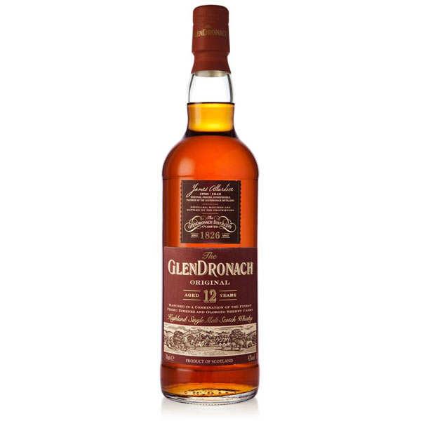 Glendronach Whisky Glendronach 12 ans Original - 43% - Bouteille 70cl en étui