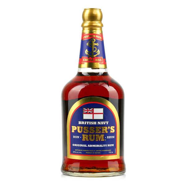 Pusser's Rhum Pusser's Blue Label 40% - Bouteille 70cl