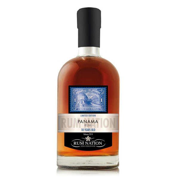 Rum Nation Rhum Rum Nation Panama Solera 18 ans 40% - Bouteille 70cl en étui