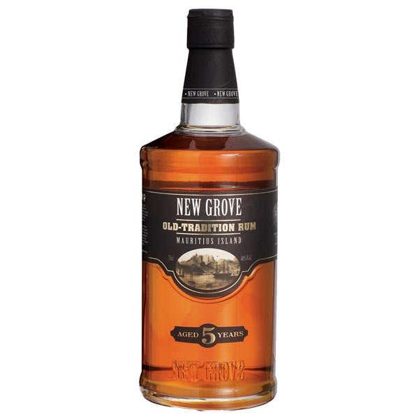 Grays Distilling Rhum New Grove 5 ans Old Tradition - 40% (Ile Maurice) - Bouteille 70cl + étui