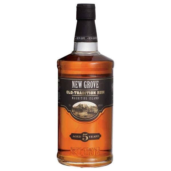 Grays Distilling Rhum New Grove 5 ans Old Tradition - 40% (Ile Maurice) - Bouteille 70cl + étui