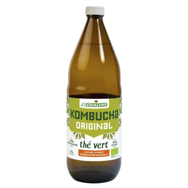 Germline Kombucha, boisson lactofermentée bio - Bouteille 33cl