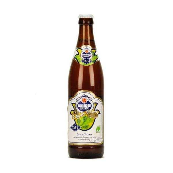 G. Schneider & Sohn Bière Schneider Weisse Tap4 Bio - 6,2% - Lot 20 bouteilles 50cl