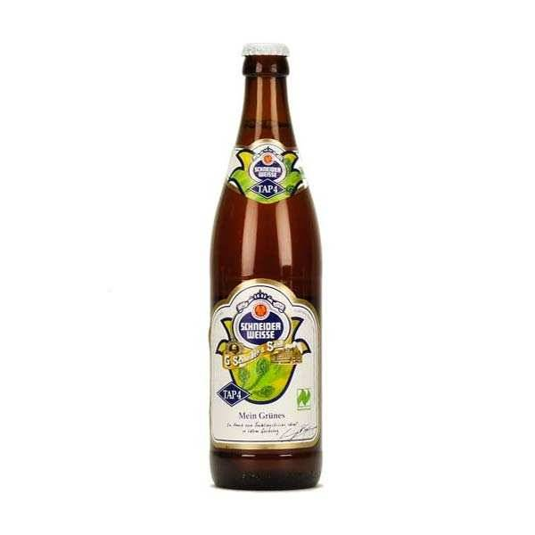 G. Schneider & Sohn Bière Schneider Weisse Tap4 Bio - 6,2% - Lot 6 bouteilles 50cl