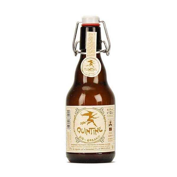 Brasserie des Légendes Quintine bière belge blonde bio - 5.9% - Lot 6 bouteilles 33cl
