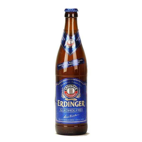 Erdinger Bière blonde Erdinger - sans alcool - Bouteille 50cl