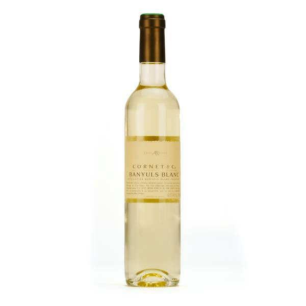 La cave Abbé Rous Banyuls blanc Cornet & Cie - 2017 - bouteille 50cl