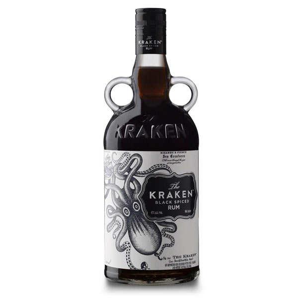 Beach House Rhum Kraken black spiced rum - 40% - Bouteille 70cl