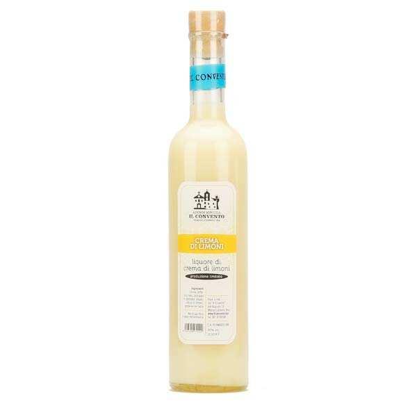Il Convento Crème de Limoncello di Sorrento - crème de liqueur au citron - 20% - Bouteille 50cl