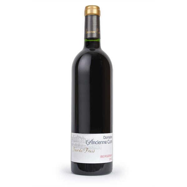 Domaine de l'Ancienne Cure Bergerac vin rouge bio Jour de Fruit - 2017 - Lot 6 bouteilles 75cl