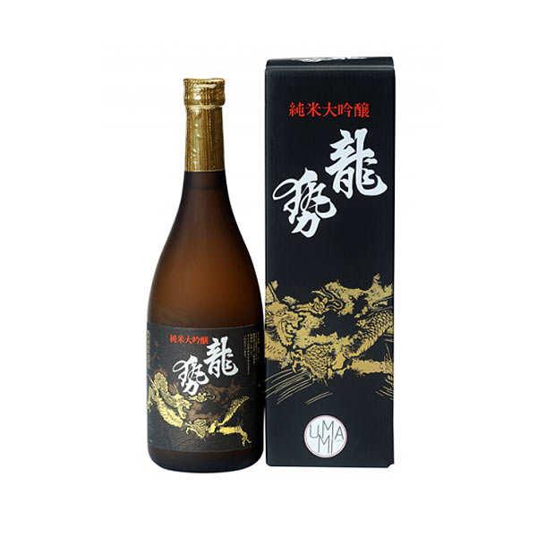 Umami Paris Saké Ryusei Jenmai Daiginjo Label noir - 17% - Bouteille 72cl