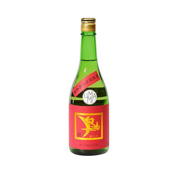 Umami Paris Saké Hakuko Junmai Yodanjikomi Label rouge - 15.5% - Bouteille 72cl