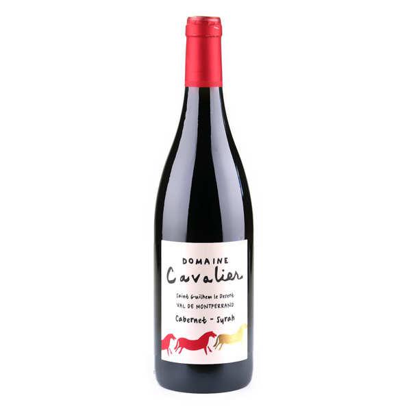 Château de Lascaux Val de Montferrand vin rouge bio - IGP St-Guilhem-le-Désert - Domaine Cavalier 13,5° - 2020 - Bouteille de 75cl