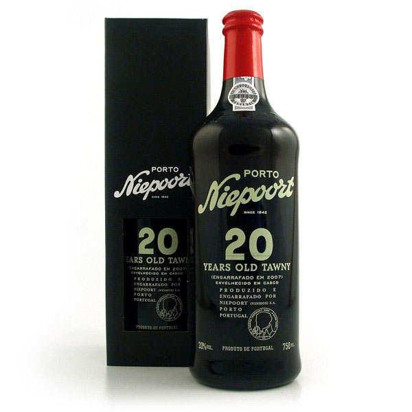 Niepoort Porto Niepoort - Tawny 20 ans d'âge - 20% - Bouteille 75cl et son étui