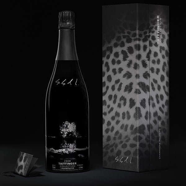 Champagne Taittinger 2008 - collection Sebastiao Salgado - Bouteille 75cl et son coffret