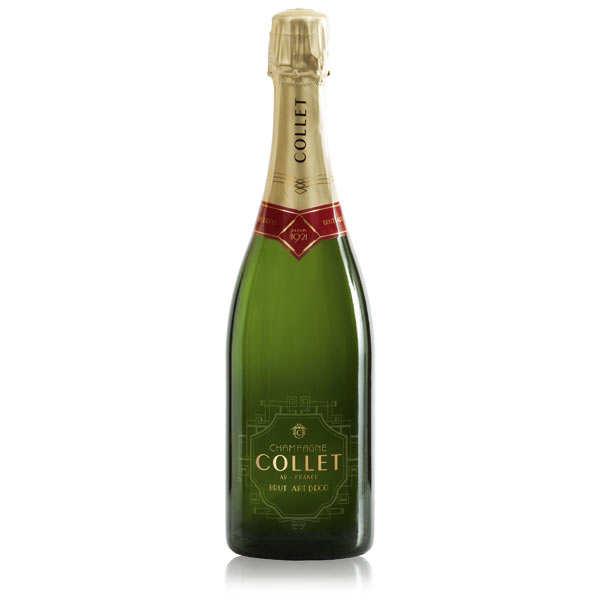 Champagne Collet Brut Art Déco Premier Cru - 6 bouteilles 75cl