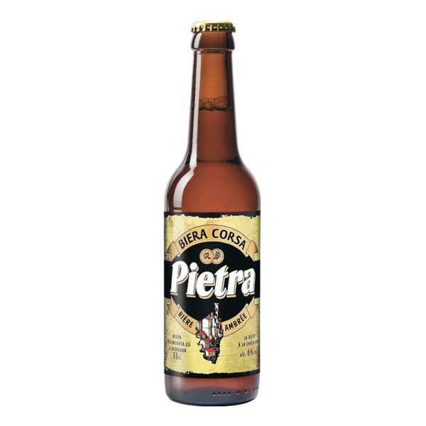 Brasserie Pietra Pietra - bière de Corse - 6% - Lot 24 bouteilles 33cl