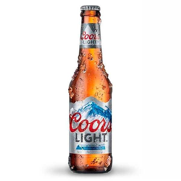 Coors Light - Bière américaine 4% - Lot 6 bouteilles 33cl
