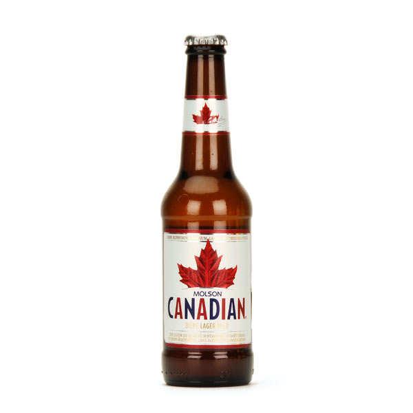Molson Bière canadienne Molson - 4% - Lot 24 bouteilles 33cl