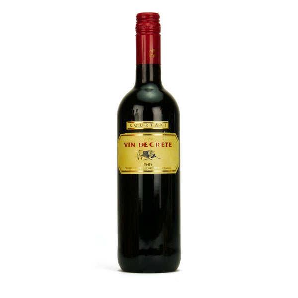 Kourtaki Vin de Crète Kourtaki Rouge - Lot 6 bouteilles 75cl