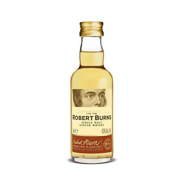 Arran Whisky Arran Robert Burns - Mignonnette - 43% - Lot 6 bouteilles 5cl