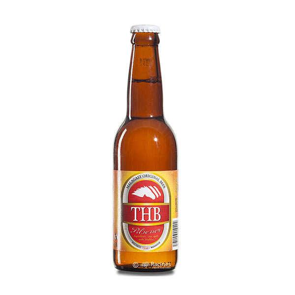 Three Horses Beer Bière THB de Madagascar 5.4% - Lot 6 bouteilles 33cl