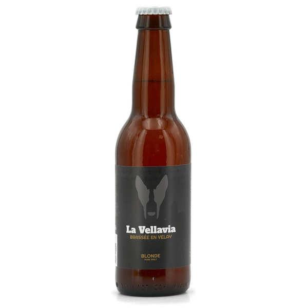 Brasserie La Vellavia Bière blonde La Vellavia 5% - Bouteille 33cl