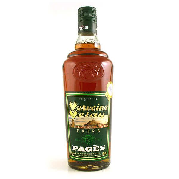 Distillerie Pagès Verveine du Velay - Extra - 40% - Bouteille 70cl