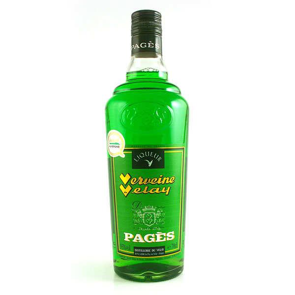 Distillerie Pagès Verveine du Velay - Verte - 55% - Bouteille 70cl