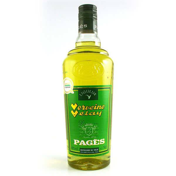 Distillerie Pagès Verveine du Velay - Jaune - 40% - Bouteille 70cl