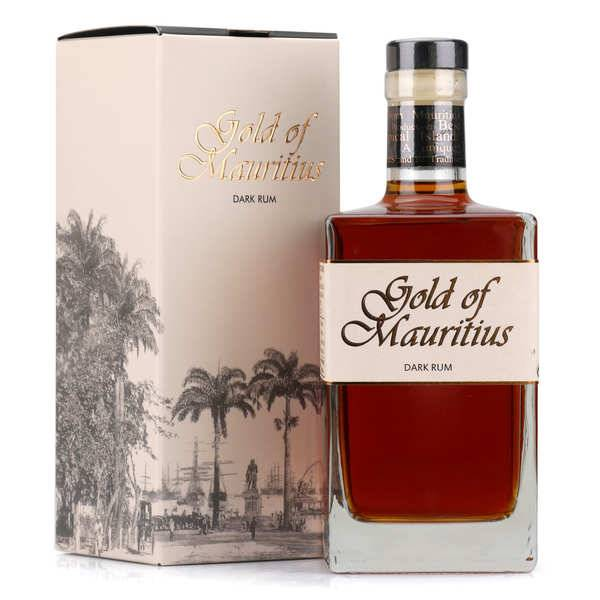 Gold of Mauritius Rhum Gold of Mauritius 40% - Bouteille 70cl