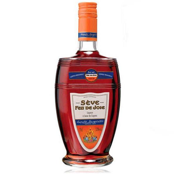 Distillerie Leopold Brugerolles Liqueur Sève Feu de Joie 32° - Bouteille 70cl