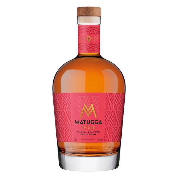 Distillerie Matugga Matugga - Rhum épicé d'Ouganda 42% - Bouteille 70cl