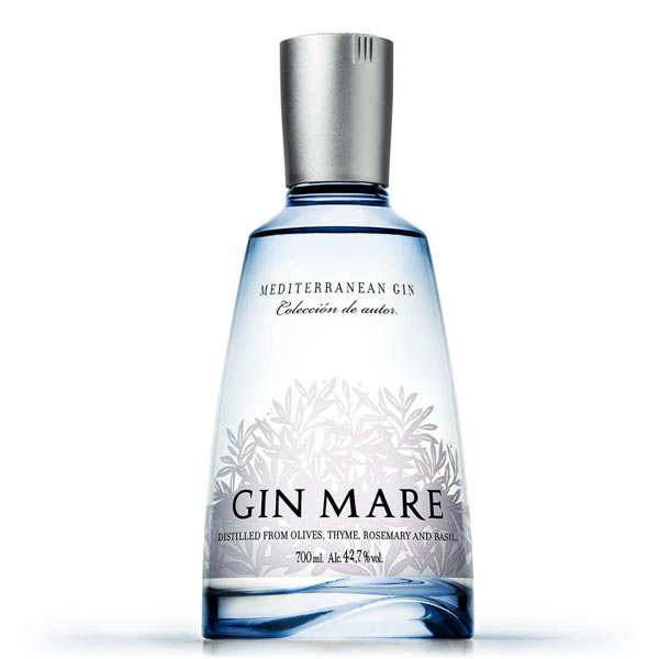 Gin Mare - Gin méditerranéen 42.7% - Bouteille 50cl