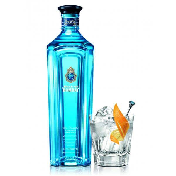 Sapphire Star of Bombay - London dry gin 47.5% - Bouteille 70cl