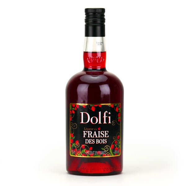 Vedrenne Dolfi - liqueur à la fraise des bois - 18% - Bouteille 50cl