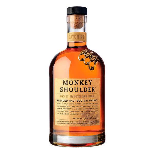 William Grant & Sons Monkey Shoulder - Triple Malt Scotch Whisky - 40% - Bouteille 70cl