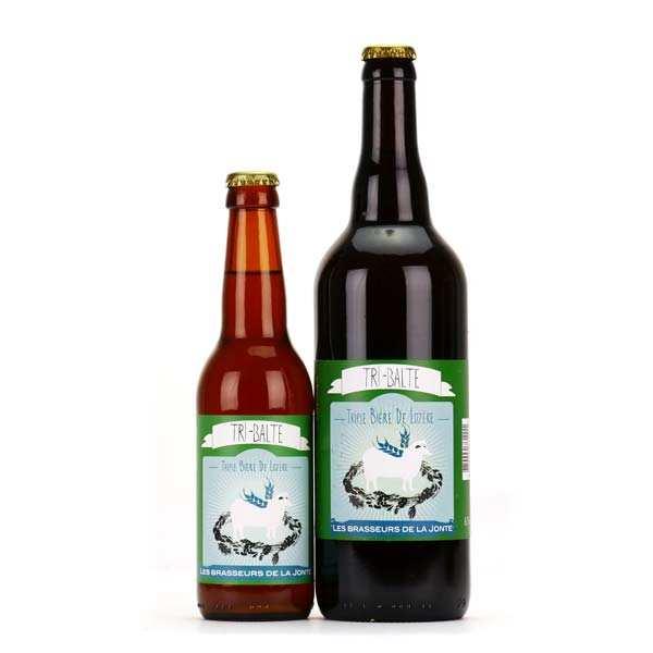 Les brasseurs de la Jonte Bière Tri-Balte de Lozère - Triple 7% - Lot de 3 bouteilles 75cl