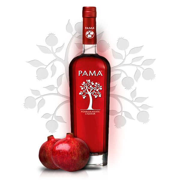 Pama Spirits Pama Pomegranate - liqueur de grenade - 17% - Bouteille 70cl